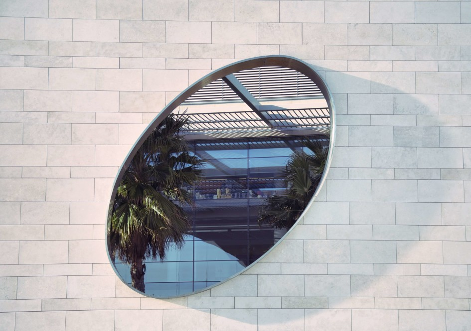 Palm Tree Mirror - Action Glass - February 6, 2018